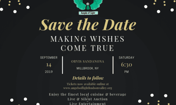 Angels of Light Making Wishes Come True Event Flyer
